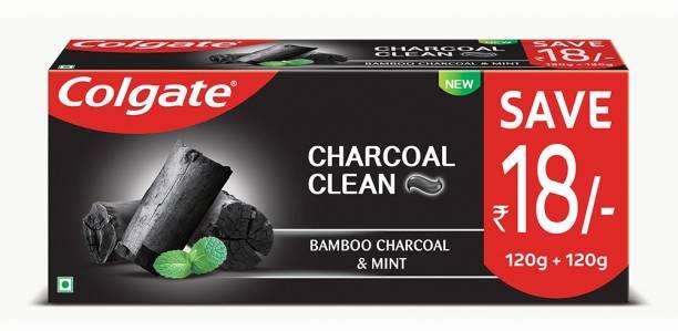 Colgate Charcoal Clean Black Gel Toothpaste
