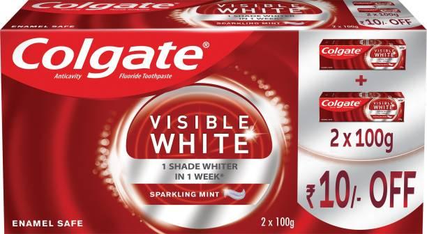 Colgate Visible White Teeth Whitening Toothpaste