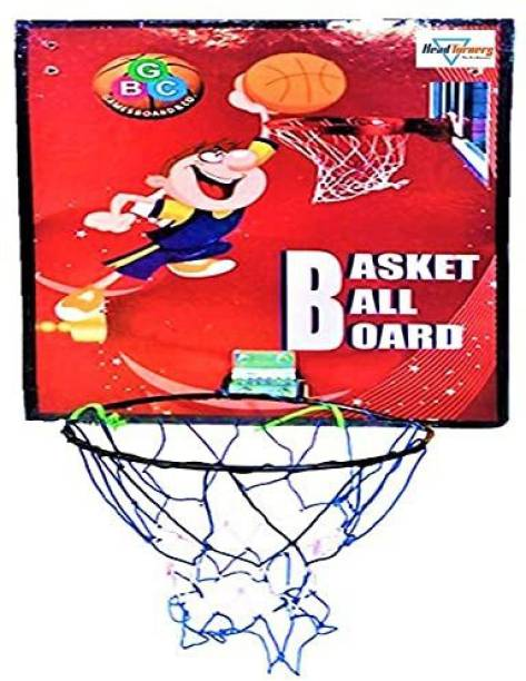 HeadTurners Basketball Ring 7 Size with Net Basketball Ring