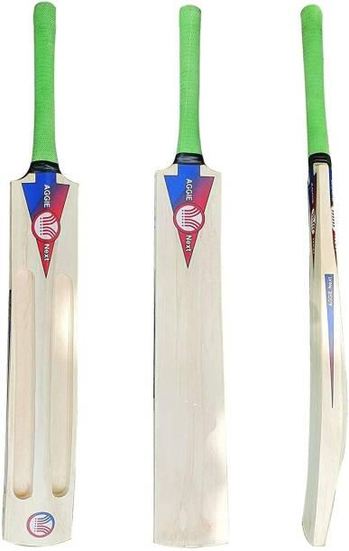 AGGIENext Poplar Willow Maratha Tennis Single Blade Bat Poplar Willow Cricket  Bat