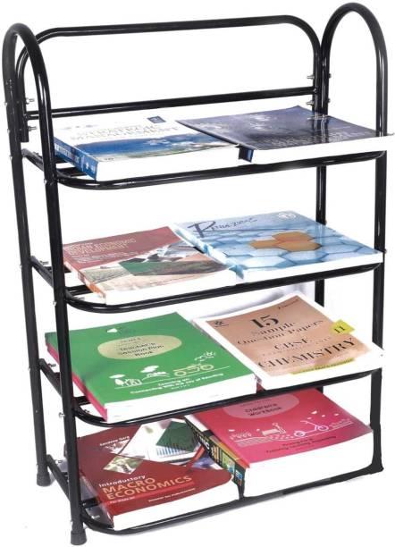 EuroQon Metal Open Book Shelf