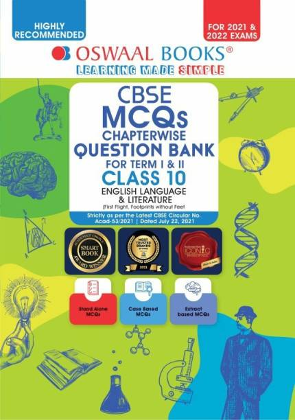 Oswaal Cbse MCQS Chapterwise for Term I & II, Class 10, English Language & Literature (with the Largest MCQ Question Pool for 2021-22 Exam) - Chapterwise For Term I & II, Class 10, English Language & Literature (With the MCQ Question Pool for 2021-22 Exam)