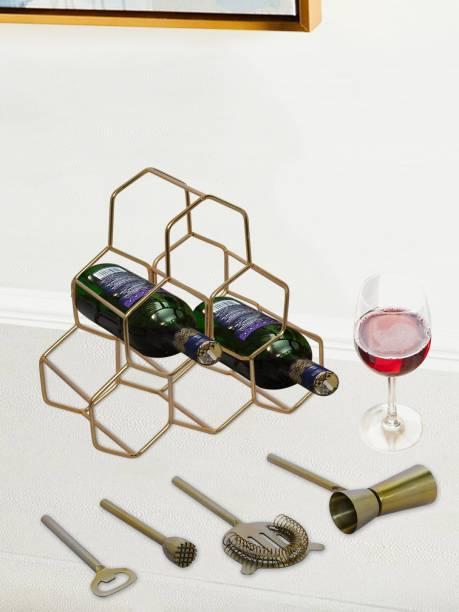 nestroots Stainless Steel Bottle Rack