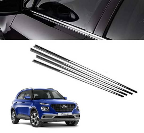 Rimpil Lower Window Garnish Venue Chrome Hyundai Venue SX 1.0 Petrol Side Garnish