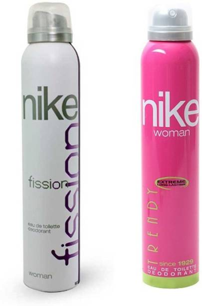 NIKE Fission Trendy Deodorant Spray  -  For Women