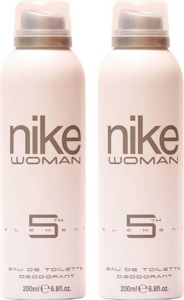 NIKE N5Th Element (200 ml + 200 ml) Deodorant Spray  -  For Women