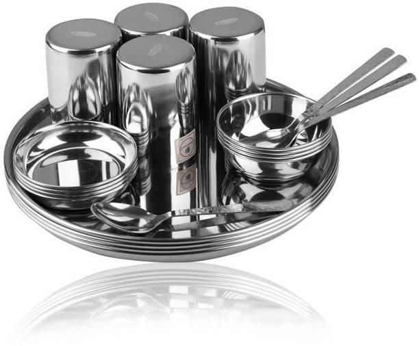 endurance Pack of 20 Stainless Steel Dinner Set