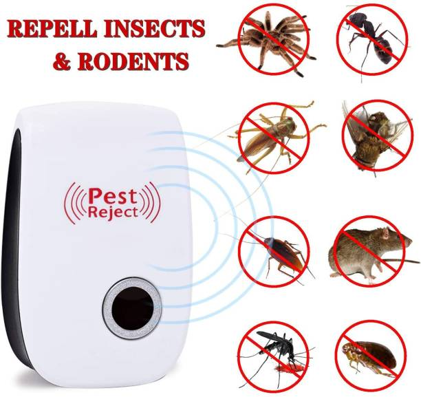 Bimal 3 PCS COMBO SMART TECHNOLOGY RATS REJECT PEST REPPELER Electric Insect Killer