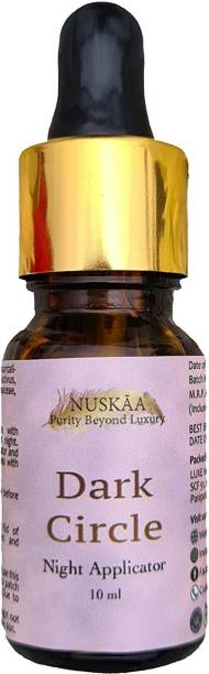 NUSKAA Dark Circle Night Applicator Oil For Dark Circles Fine Lines Puffed Eyes Stressed Eyes