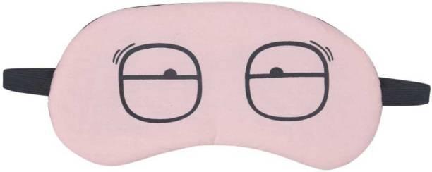JK ENTERPRISE Sleeping Eye Shade Mask Cover for Insomnia, Meditation, Puffy Eyes and Dark Circles Sleeping Pink With Gel Eye Shade 1 PC PINK