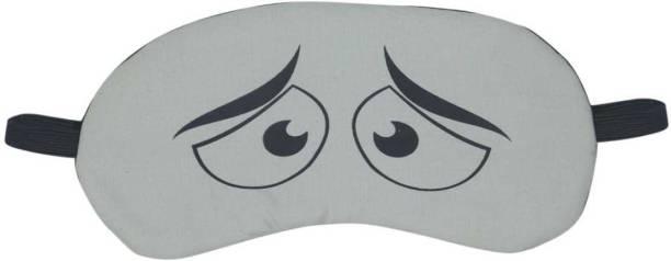 JK ENTERPRISE 1 PC PRINTED EYE MASK Sleeping Eye Shade Mask Cover for Insomnia, Meditation, Puffy Eyes and Dark Circles Sleeping With Gel Eye Shade