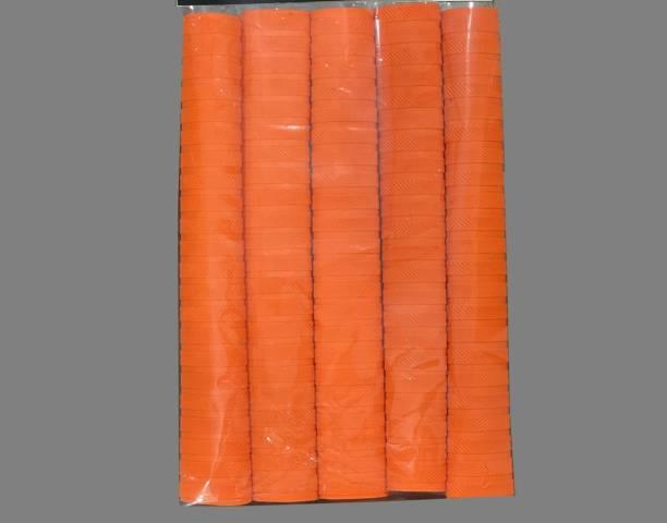 Rockjon Cricket Bat Orange Grip + One Wooden Gripper Chevron Chevron