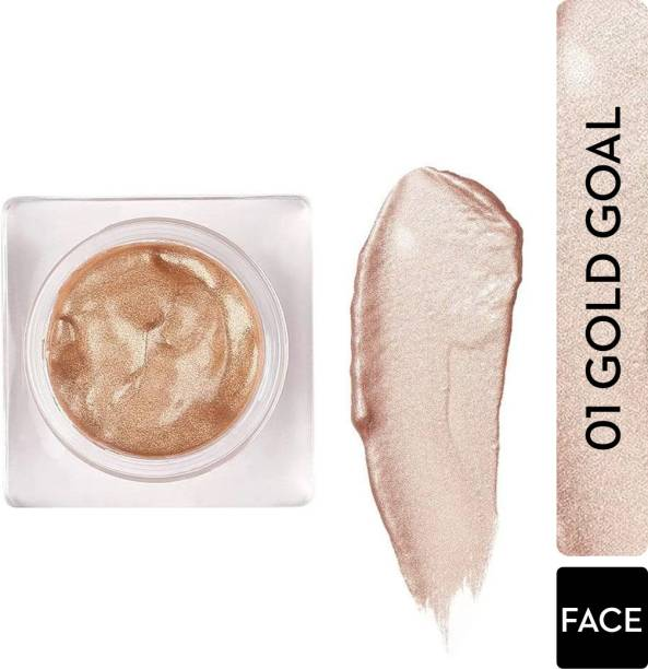 SUGAR Cosmetics Glow And Behold Jelly Highlighter - 01 Gold Goal (Warm Champagne Gold) Highlighter