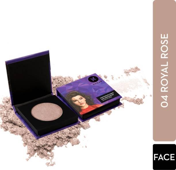 SUGAR Cosmetics Contour De Force Mini Highlighter - 04 Royal Rose (Rosey Taupe) Highlighter