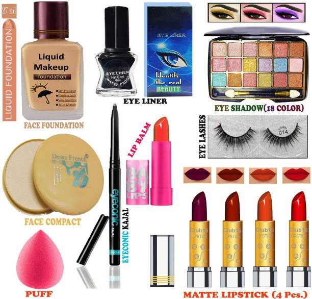 CLUB 16 All Profession Women's Makeup Kit of Professional Makeup Items ALRR54