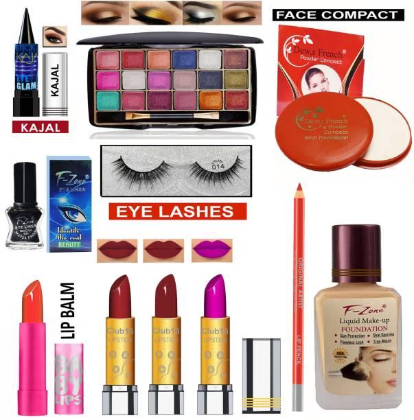 CLUB 16 ALL in one Makeup kit For Women 7 Girls VKS97