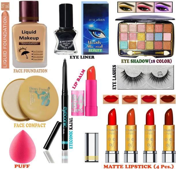 CLUB 16 All Profession Women's Makeup Kit of Professional Makeup Items ALRR36