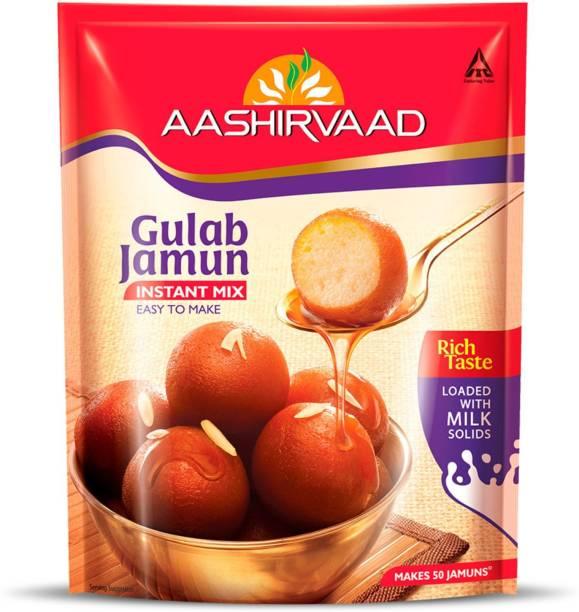 AASHIRVAAD Instant Mix - Gulab Jamun 500 g