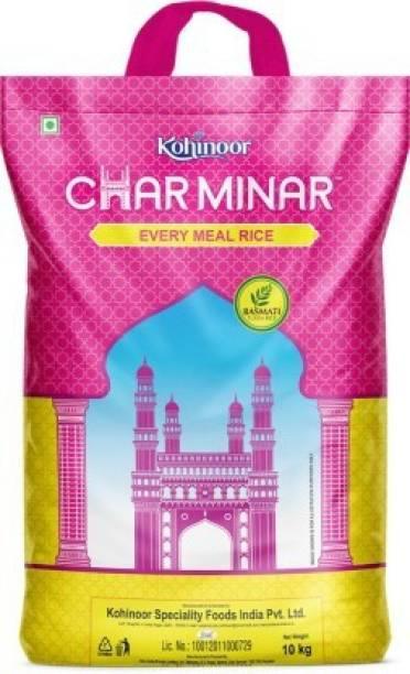 KOHINOOR Charminar Everymeal Basmati Rice (Mogra) 10kg Basmati Rice (Broken Grain, Polished)
