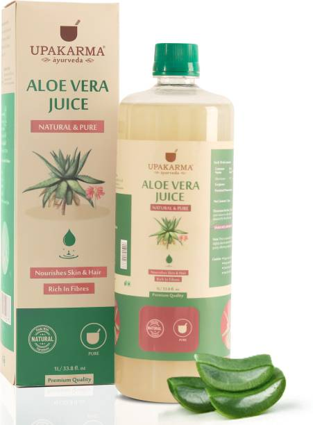 UPAKARMA Aloe Vera Juice a Natural All-Round Tonic for Skin, Hair and Boost Immunity