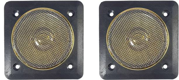 """SYMFONIA 2.5""""/6.35cm 320 Watt Max Dome Tweeter for Audio System Also Suitable for Stereo Box (Pack of 2) 2.5""""/6.35cm 320 Watt Max Dome Tweeter for Audio System Also Suitable for Stereo Box (Pack of 2) Tweeter Car Speaker"""