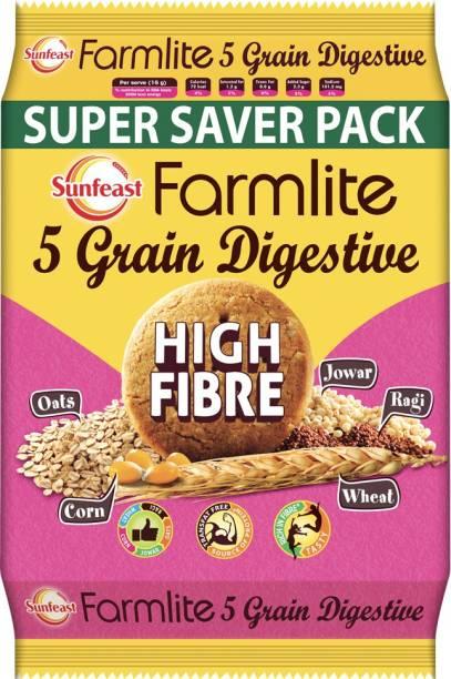 Sunfeast Farmlite 5 Grain High Fibre Biscuit Digestive
