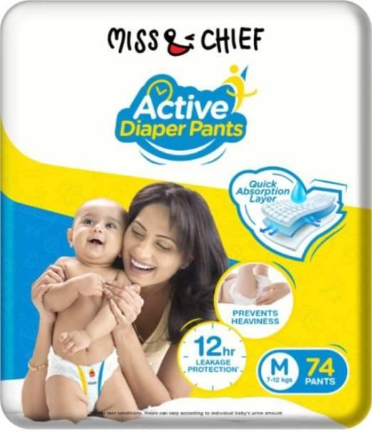 Miss & Chief Active Diaper Pants - M