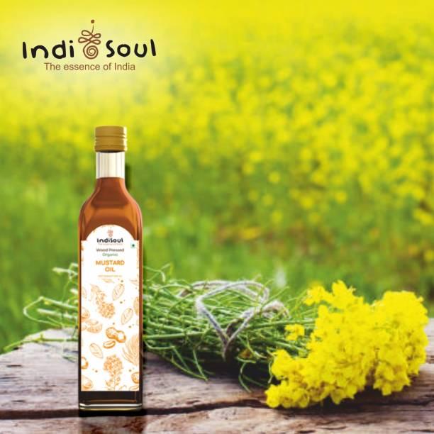 Indisoul Wood-pressed Organic Mustard Oil Mustard Oil PET Bottle
