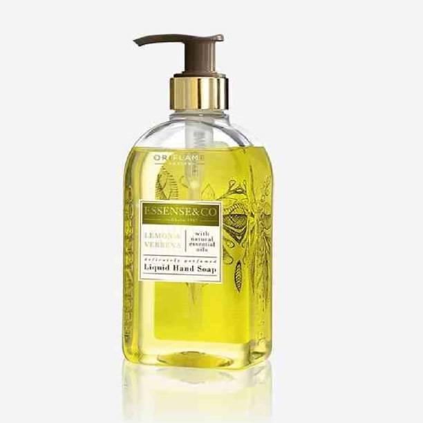 Oriflame ESSENSE&CO. Lemon & Verbena Liquid Hand Soap Hand Wash Pump Dispenser