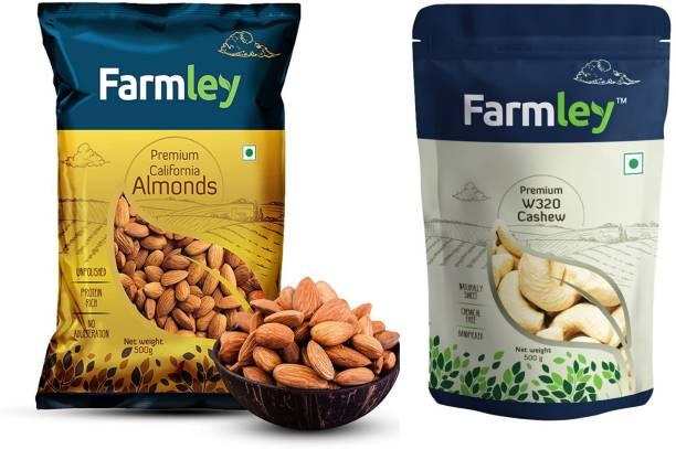Farmley Premium Cashew & Almonds Assorted Nuts