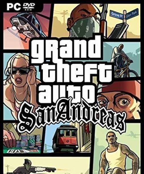 Gta SanAndreas Action Adventure Open World Game (Offline Only) (Regular)