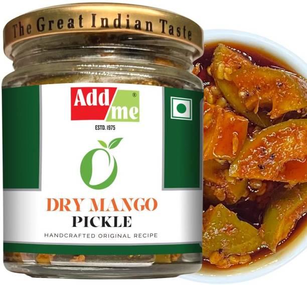 ADD ME Dry Mango Pickle, sukha aam ka achar 150gm Glass jar Mango Pickle
