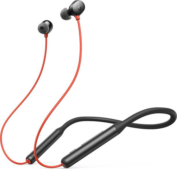 Soundcore by Anker R500 Fast charging neckband with 20 hours playtime Bluetooth Headset