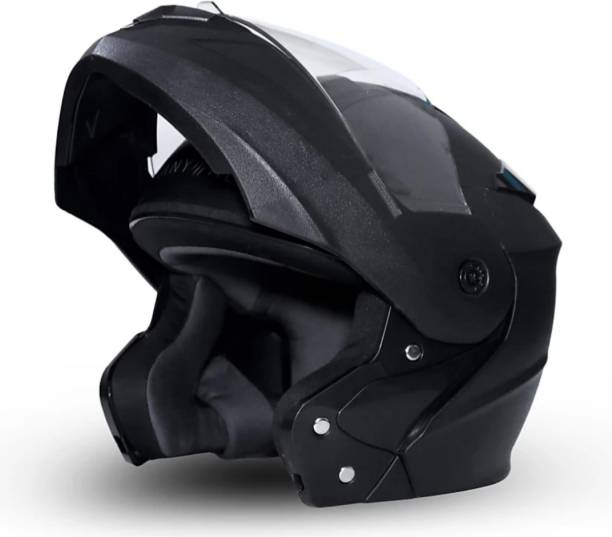 fastking Ninja series-Eagle Flip up Clear Visor Motorbike Helmet