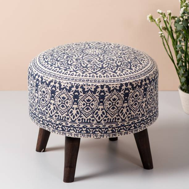 nestroots Fabric Standard Ottoman