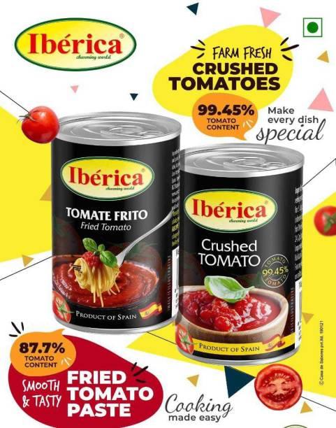 Iberica Spanish Tomato Crushed Tomato & Tomate Frito Sauce Mix