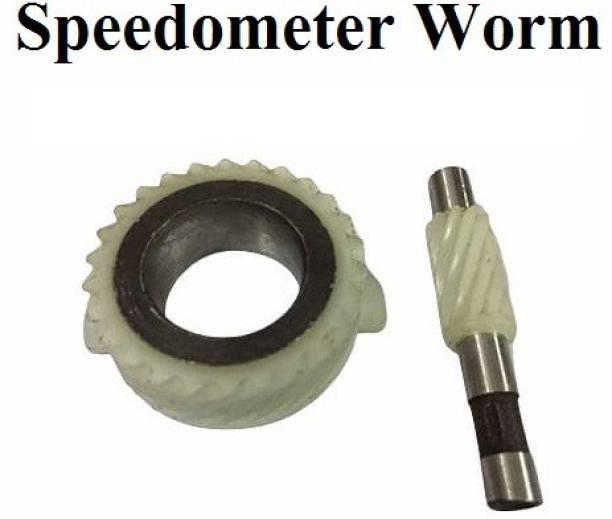 D'Mega Mart Rx 135 5 Speed Speedometer Worm Set Analog Speedometer