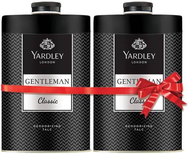 Yardley London Gentleman Classic Perfumed Talc
