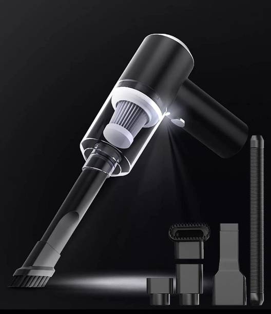 Zofey Powerful Portable & High Power 12V Vacuum Cleaner for Car and Home Wet and Dry Car Vaccum Cleaner Multipurpose Vaccum Cleaner for Car Cleaning Car Vacuum Cleaner (Black) Car Vacuum Cleaner with Reusable Dust Bag (Black) Car Vacuum Cleaner with 2 in 1 Mopping and Vacuum, Anti-Bacterial Cleaning