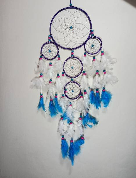 FASTDAP Dream Cacher Wall Hanging Handmade Wall Art for Bedrooms,office,Balcony,Outdoors,Garden,Home Wall Hanging Design Feather Dream Catcher