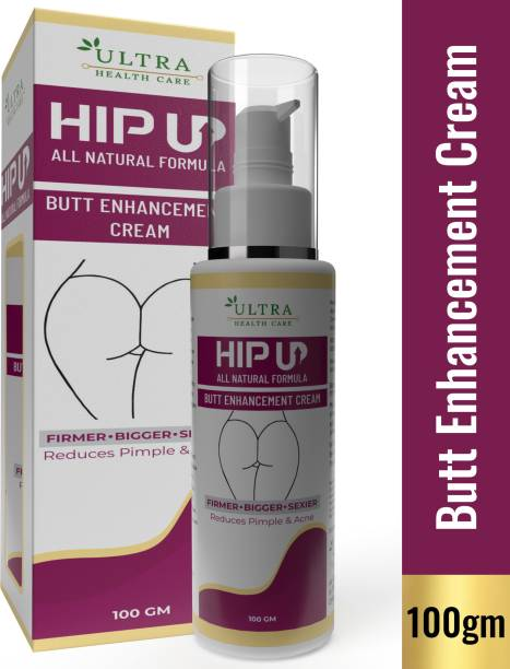 Ultra Healthcare HipUp All Natural Butt Enhancement Cream |For Lift Up Buttock ,Buttocks & Tightening | Lift Up Butt Firm Skin Enlargement |Anti Ageing , Shaping ,Uplifting Sagging Fat Muscles |For Reducing Stretch Marks|For Reducing Acnes & Pimples [Mineral Oil Free, Paraben Free & Chemical Free]
