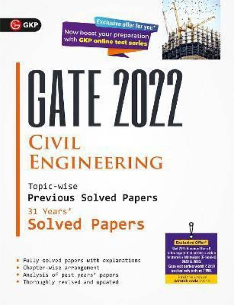 Gate 2022 Civil Engineering 31 Years Topic Wise Previous Solved Papers
