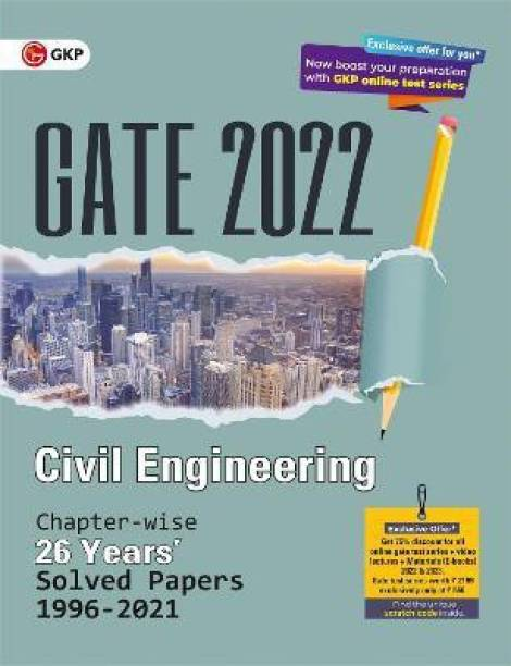 Gate 2022 Civil Engineering 26 Years Chapter-Wise Solved Papers (1996-2021)