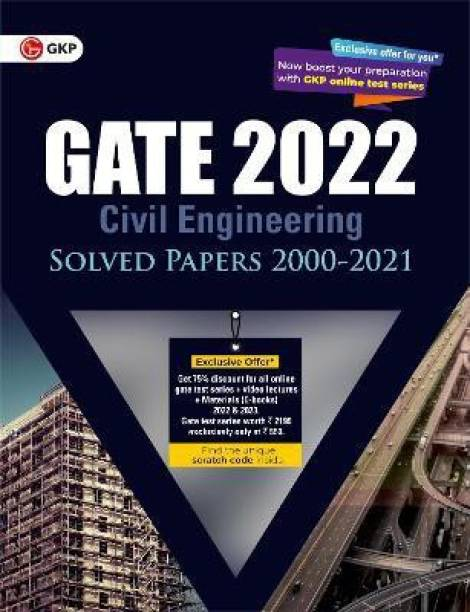 Gate 2022 Civil Engineering Solved Papers (2000-2021)