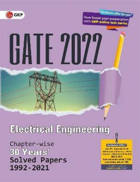 Gate 2022 Electrical Engineering 30 Years Chapterwise Solved Paper (1992-2021)