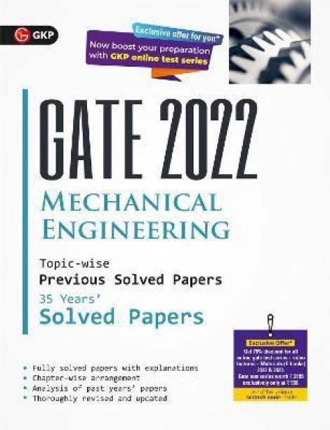 Gate 2022 Mechanical Engineering - 35 Years Topic-Wise Previous Solved Papers