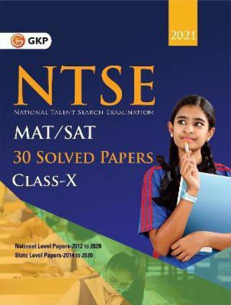 Ntse 2020-21 Class 10th (Mat + Sat) 30 Solved Papers