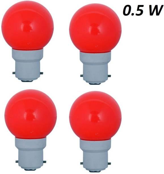 Cosas 0.5 W Round B22 LED Bulb