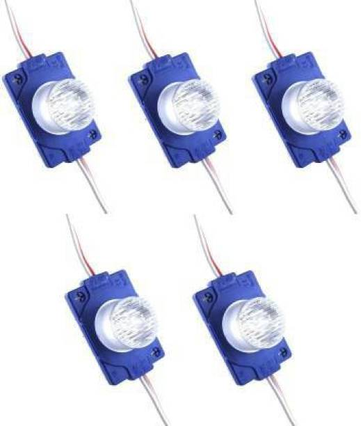 BRPEARl LED Module Ultra Bright DC 12V Light Waterproof Blue Module Lights (5pcs) Car Fancy Lights