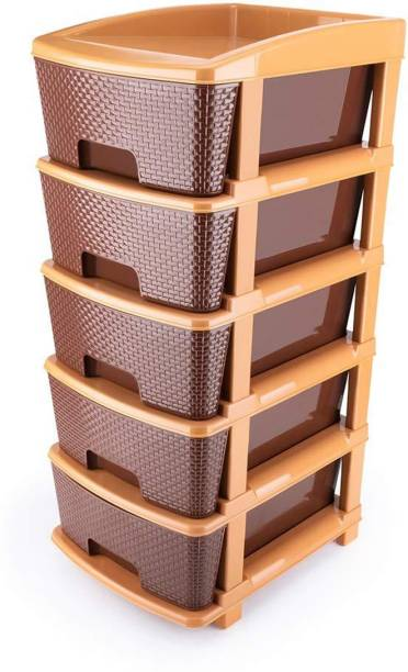 Shopixo Plastic Free Standing Cabinet